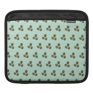 coffee beans mint sleeve for iPads