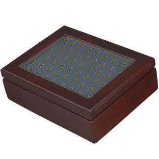 coffee beans muted purple keepsake box
