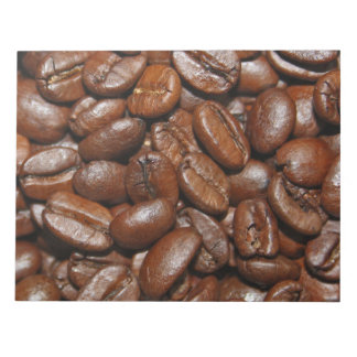 Coffee beans note pad
