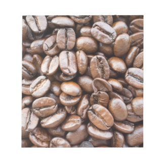 Coffee beans notepad
