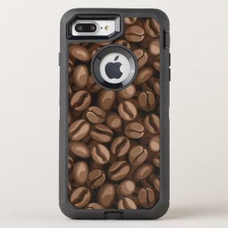 Coffee beans OtterBox defender iPhone 8 plus/7 plus case