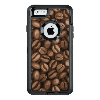 Coffee beans OtterBox defender iPhone case