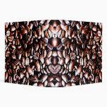 Coffee Beans Pattern - Dark Roast 3 Ring Binders
