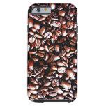 Coffee Beans Pattern - Dark Roast iPhone 6 Case