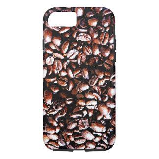 Coffee Beans Pattern - Dark Roast iPhone 7 Case