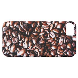 Coffee Beans Pattern - Dark Roast iPhone SE/5/5s Case