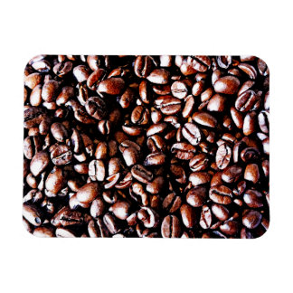 Coffee Beans Pattern - Dark Roast Magnet