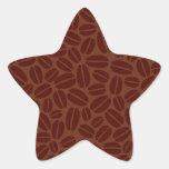 Coffee Beans Pattern Sticker