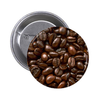 Coffee beans Photo Pinback Buttons