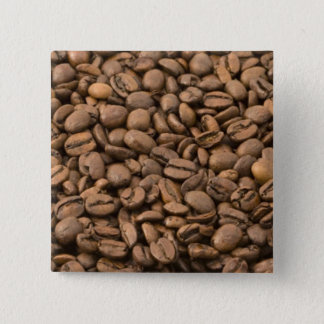 Coffee Beans Pinback Button