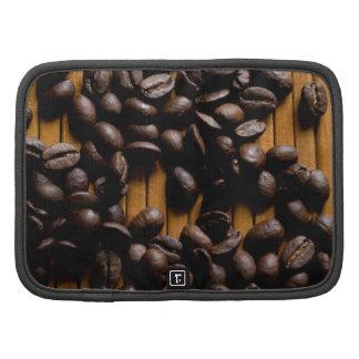 Coffee beans folio planners