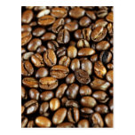 Coffee beans post cards