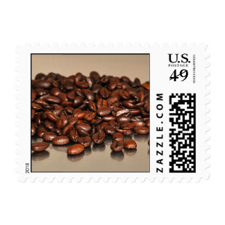 Coffee beans stamps