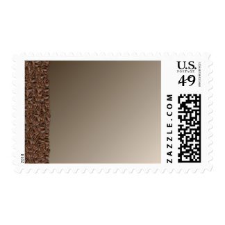Coffee Beans Postage Stamp