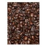 Coffee beans - postcards