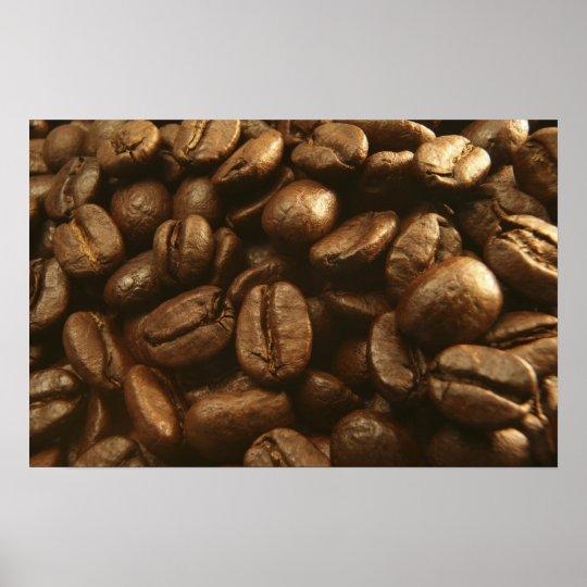 Coffee Beans Poster Art