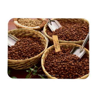 Coffee Beans Rectangular Photo Magnet