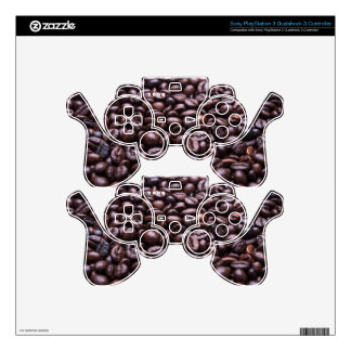 Coffee Beans Skin For PS3 Controller