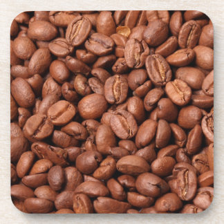 Coffee Beans Square Coasters