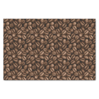 Coffee beans tissue paper
