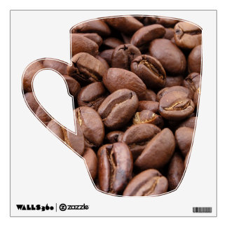 Coffee Beans Wall Decal