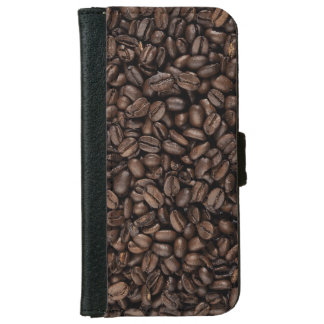 Coffee Beans Wallet Phone Case For iPhone 6/6s