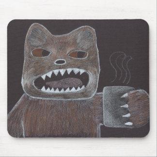 Coffee Bear Mouse Pad