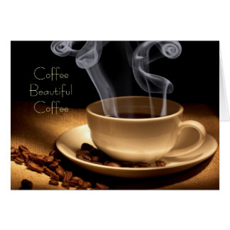 Coffee Beautiful Note Cards