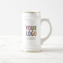 Coffee Beer Stein Custom Company Logo Promotional