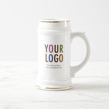 Coffee Themed Coffee Beer Stein Custom Company Logo Promotional