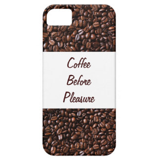 Coffee Before Pleasure iPhone5 Case iPhone 5 Cover