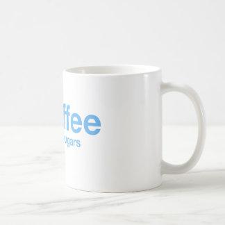 Coffee (Black 2 Sugars) Hashtag Mug