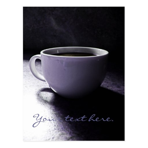Coffee Blues Post Card