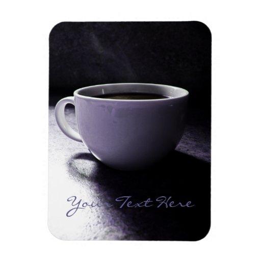Coffee Blues Rectangular Photo Magnet