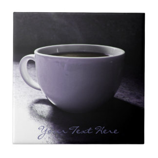 Coffee Blues Small Square Tile