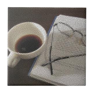 Coffee & Book - tile