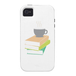 Coffee & Books iPhone 4 Cases