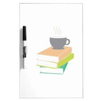 Coffee & Books Dry-Erase Whiteboards