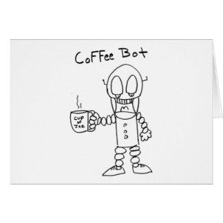 Coffee Bot Card