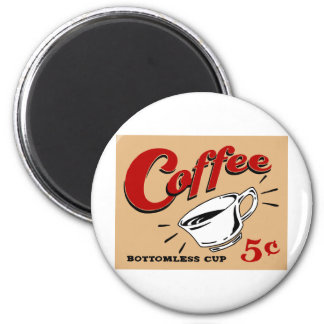 Coffee Bottomless Cup Magnet