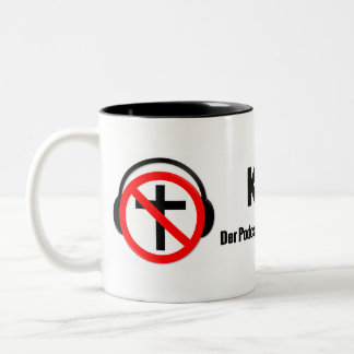Coffee break 2.0 Two-Tone coffee mug