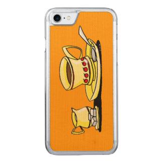 coffee break carved iPhone 8/7 case