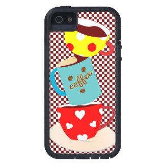Coffee Break Checks iPhone SE/5/5s Case