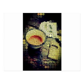 Coffee Break - Cool dots Postcard