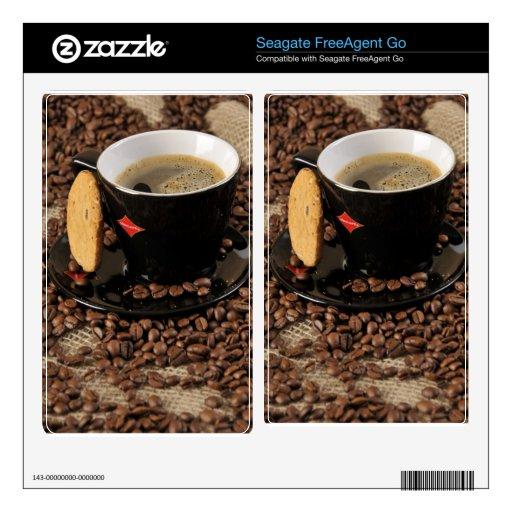 Coffee break decal for FreeAgent go