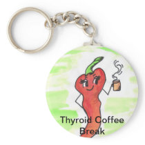Coffee Break Key Chain