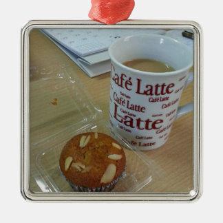 Coffee Break Metal Ornament