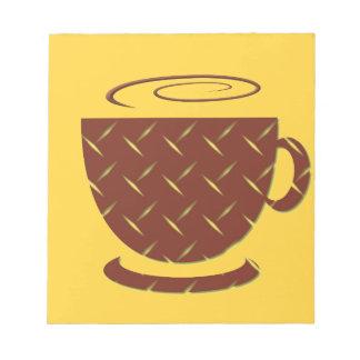 Coffee break notepad