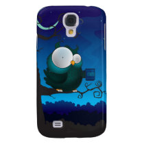 Coffee break owl samsung galaxy s4 case