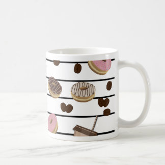 Coffee break pattern coffee mug